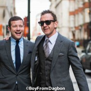 Dermot O'Leary and Tom Stubbs