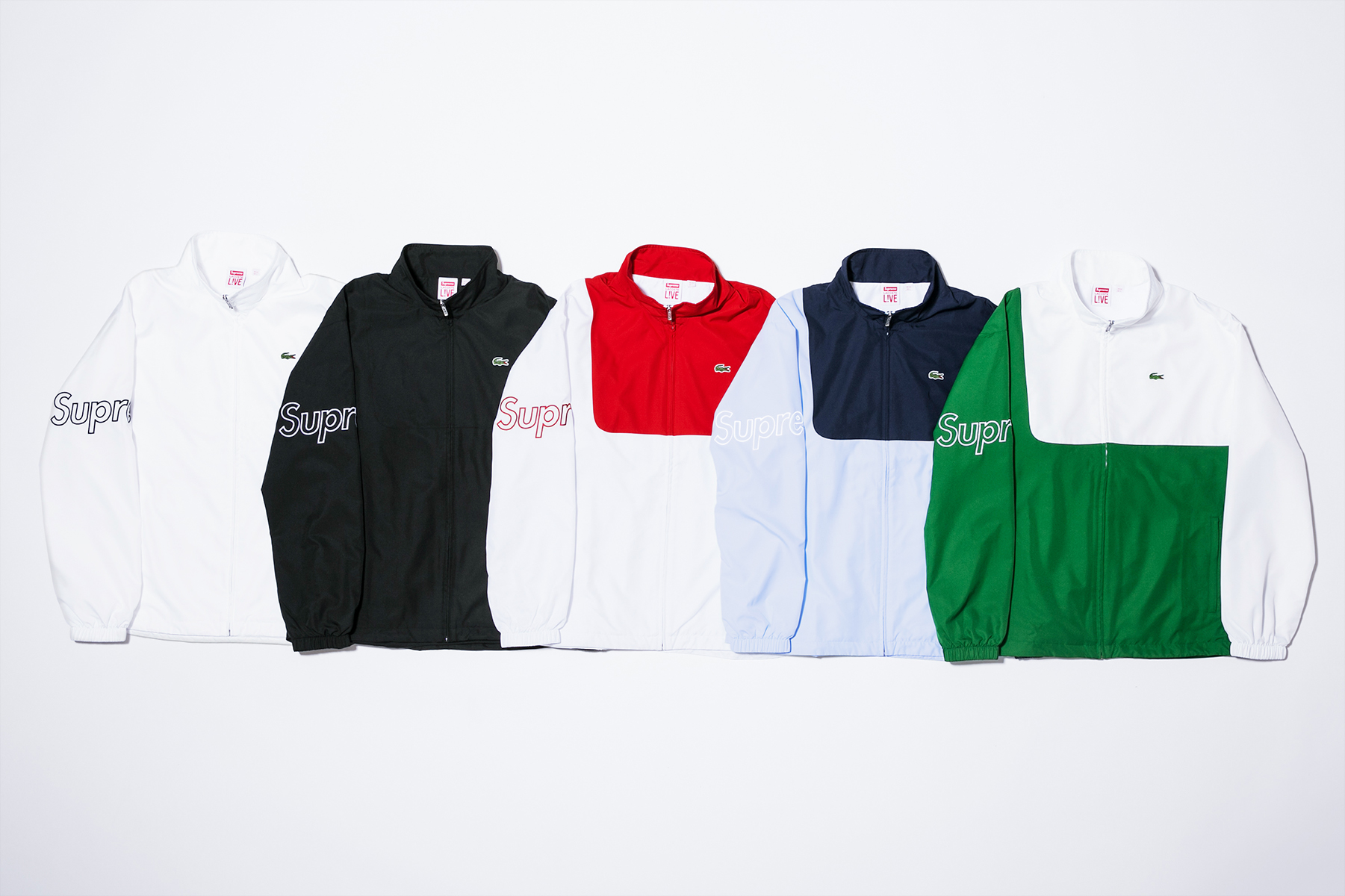 Supreme_Lacoste_ jackets