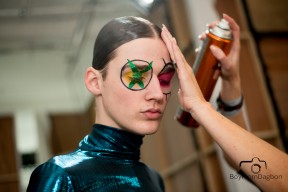KATIE EARY LC:M AW15 BACKSTAGE